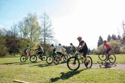 Kennenlernspiel Mountainbike