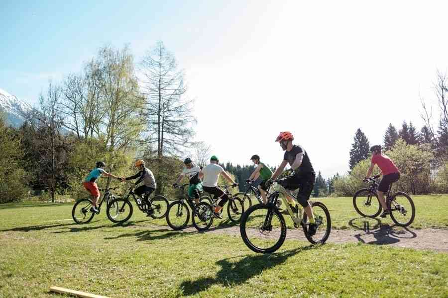 Kennenlernspiel Mountainbike