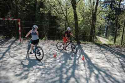 Bike Übungen am Platz
