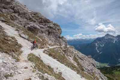 Trail im Hang