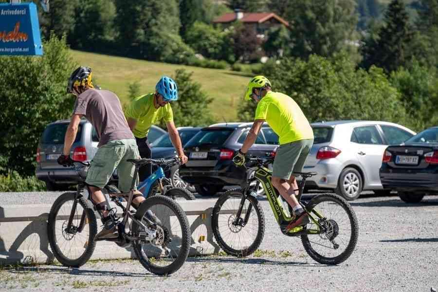 Balance halten mit dem E-Bike