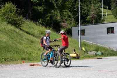 Balancespiele Mountainbike