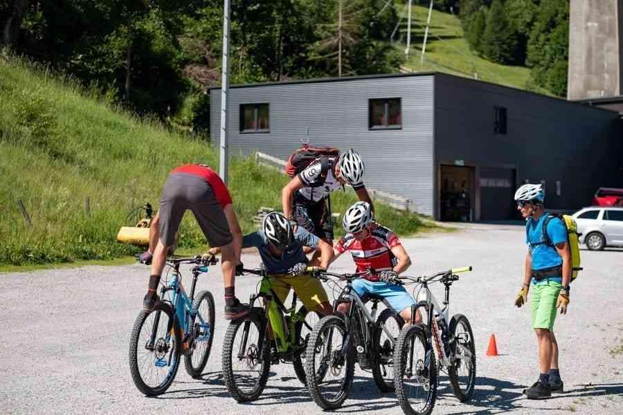 Bikespiele Fahrtechnikkurs