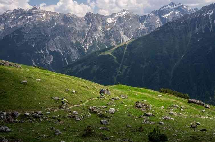 Trail ins Stubaital