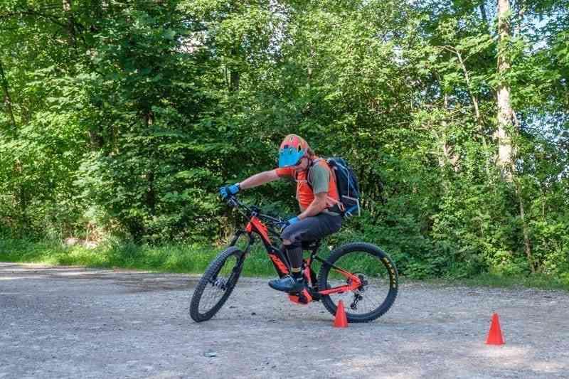 Steuern mit E-Bike