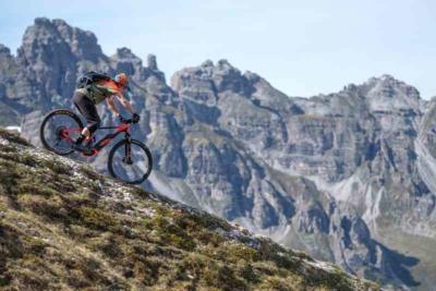 E-Bike am Trail