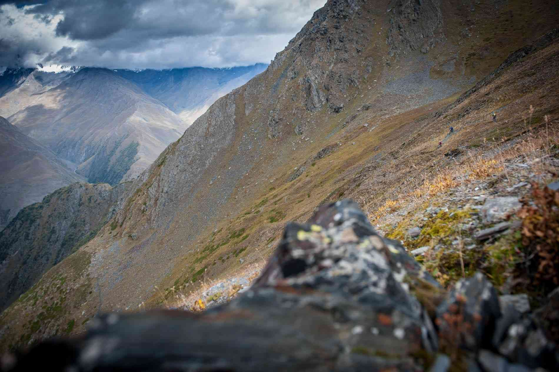 Mountainbike Georgia