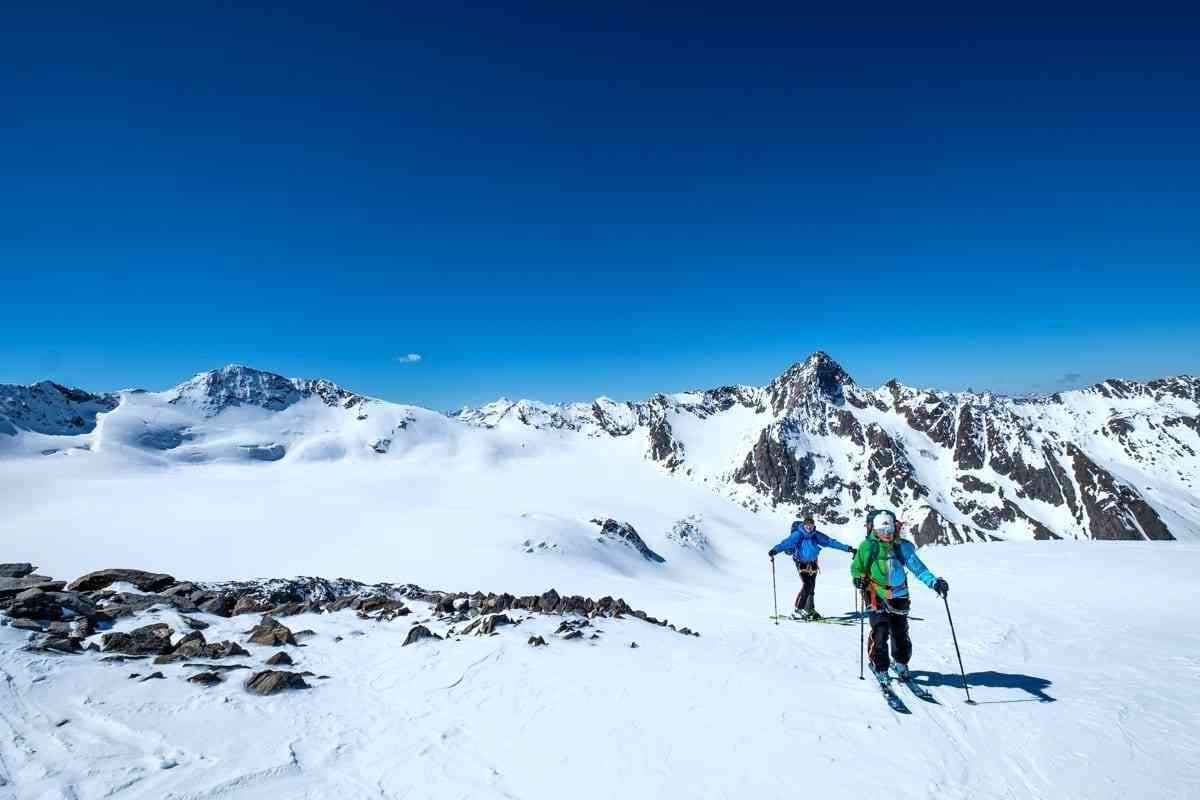 Skihochtour in der Gletscherwelt