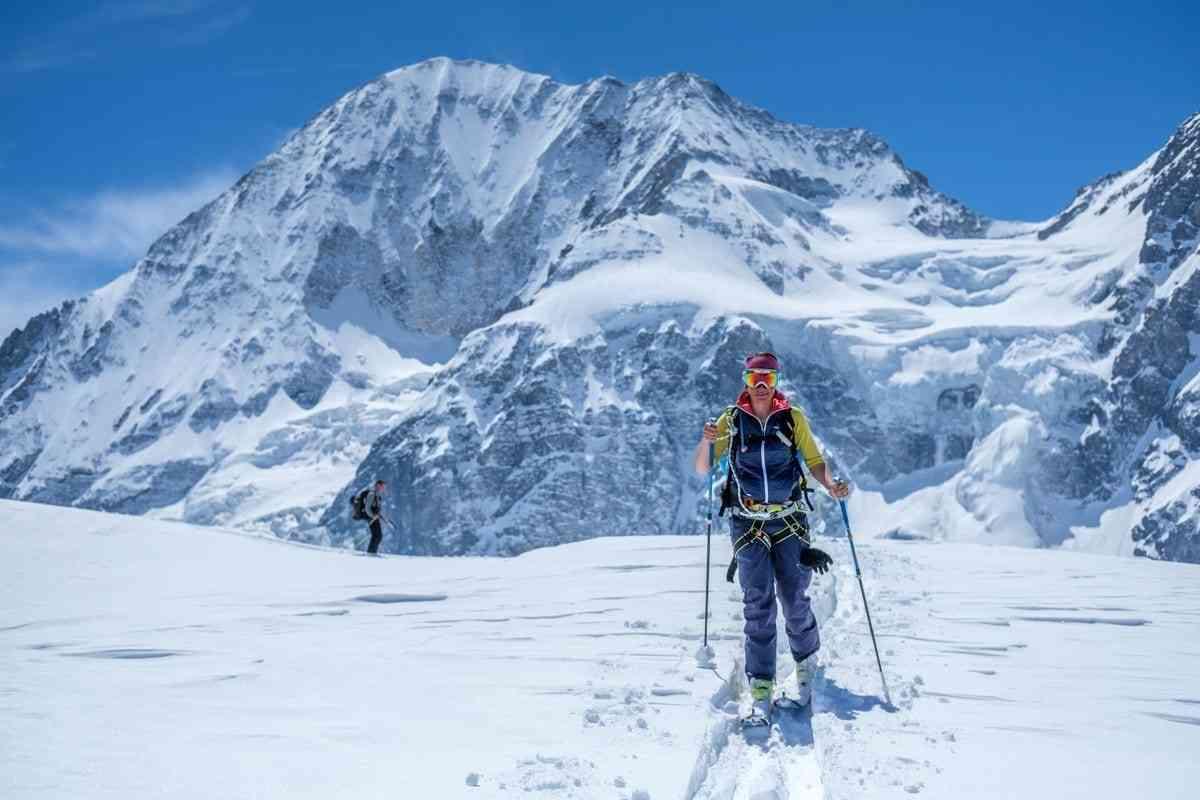Anstieg unter der Königsspitze