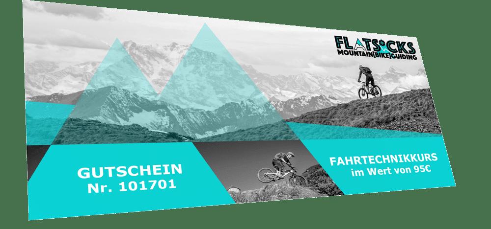 Outdoor Gutschein für Mountainbike, Ski und Berg