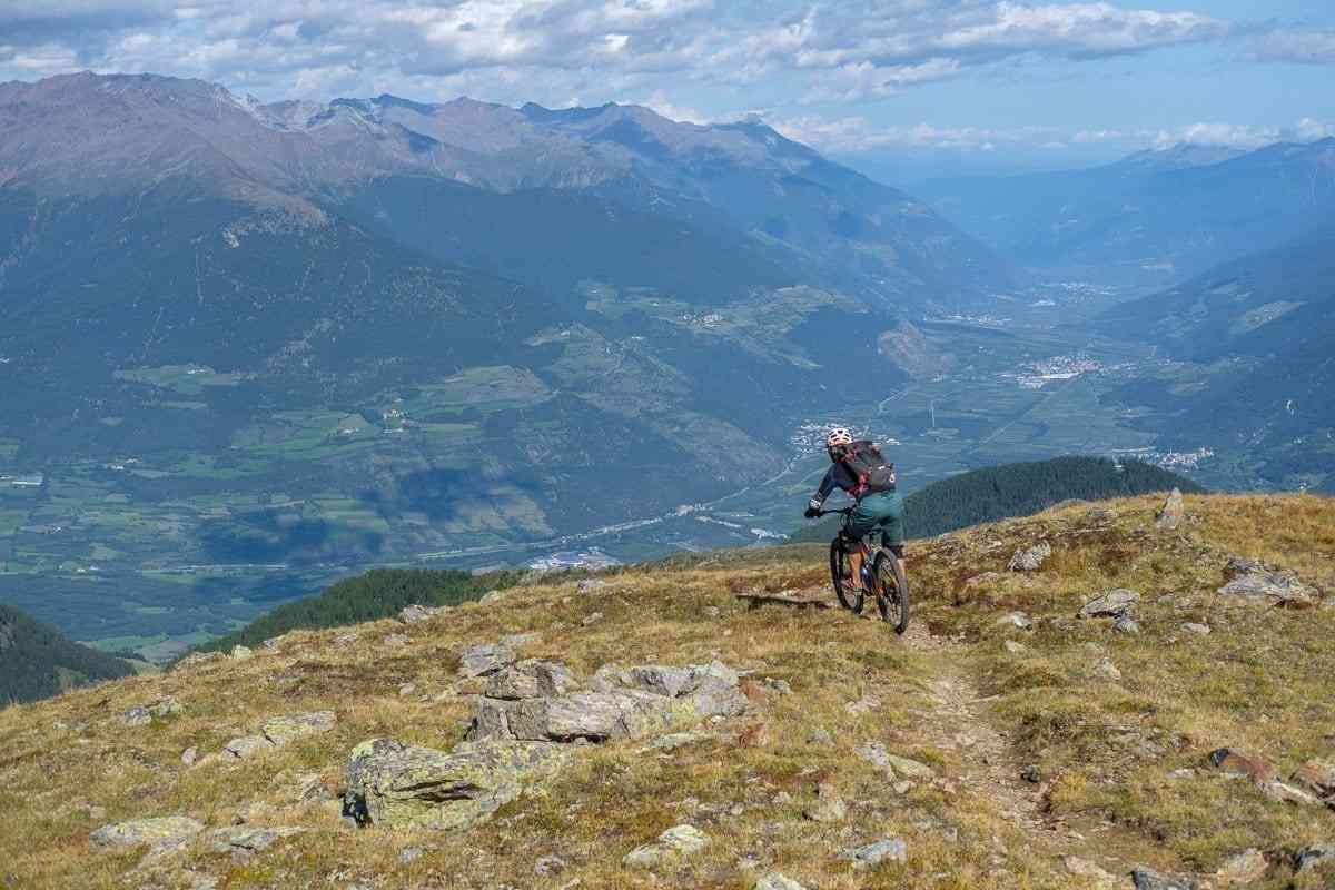 Abfahrt von 3000m bis ins Vinschgau