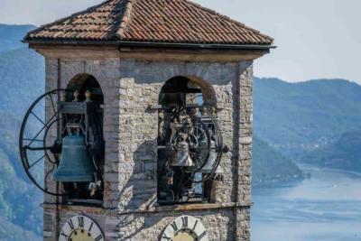 Kirchturm Tessin