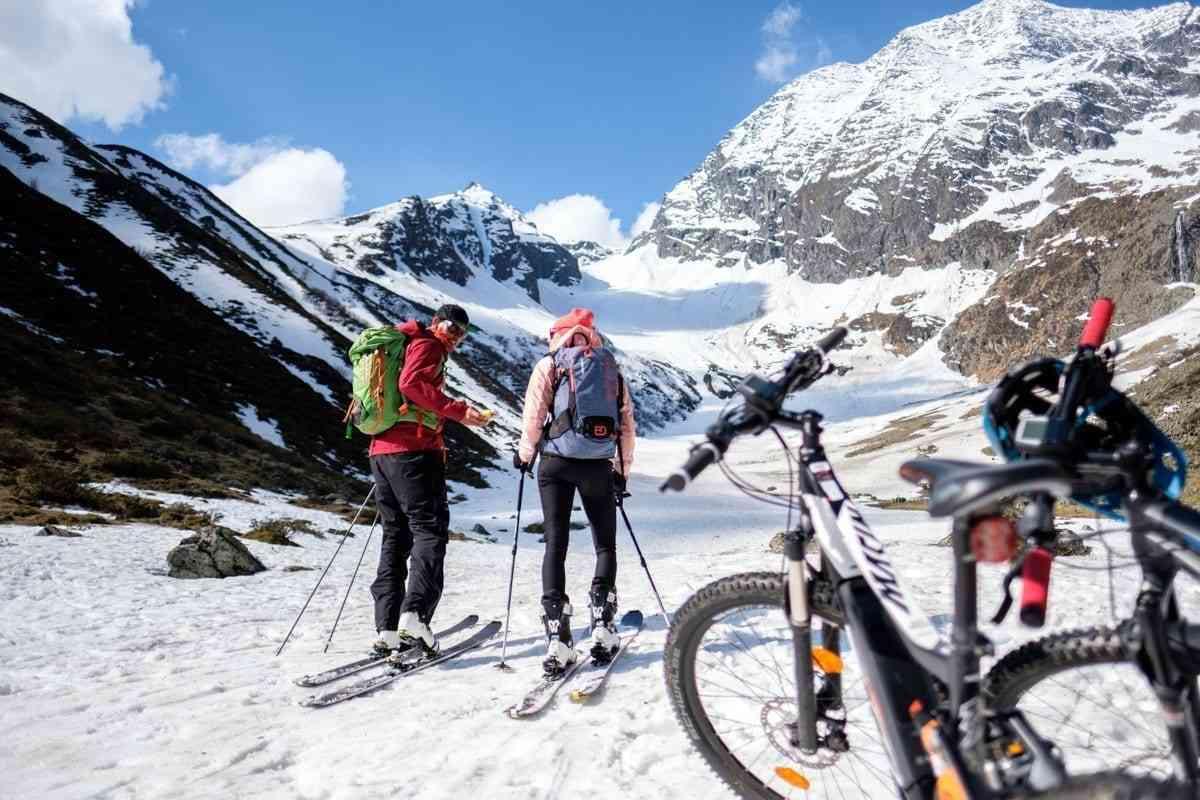 E-Bike and Skitour