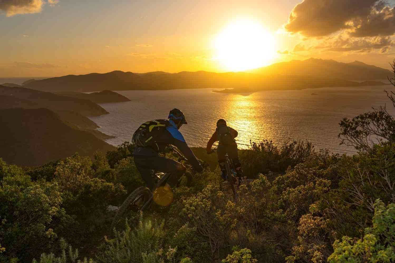 Sonnenuntergang Elba