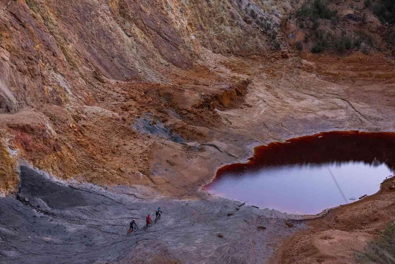 Roter See auf Elba