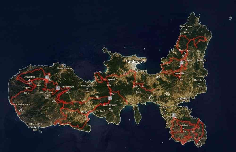 Trails Elba