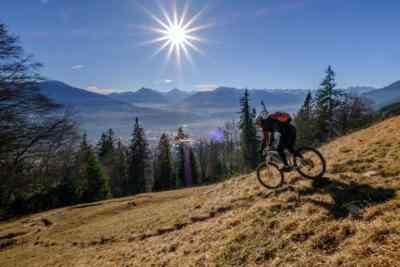 Versteckter Trail Innsbruck