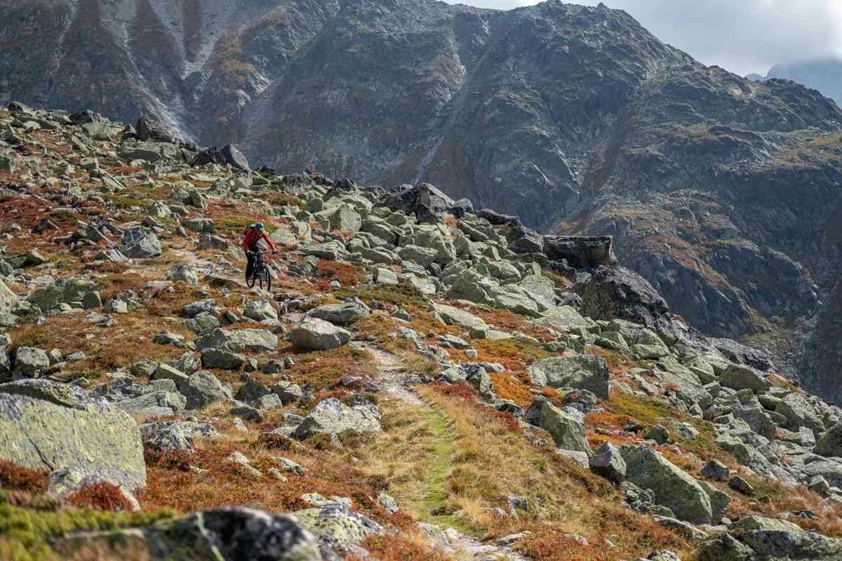 Trail im Ötztal