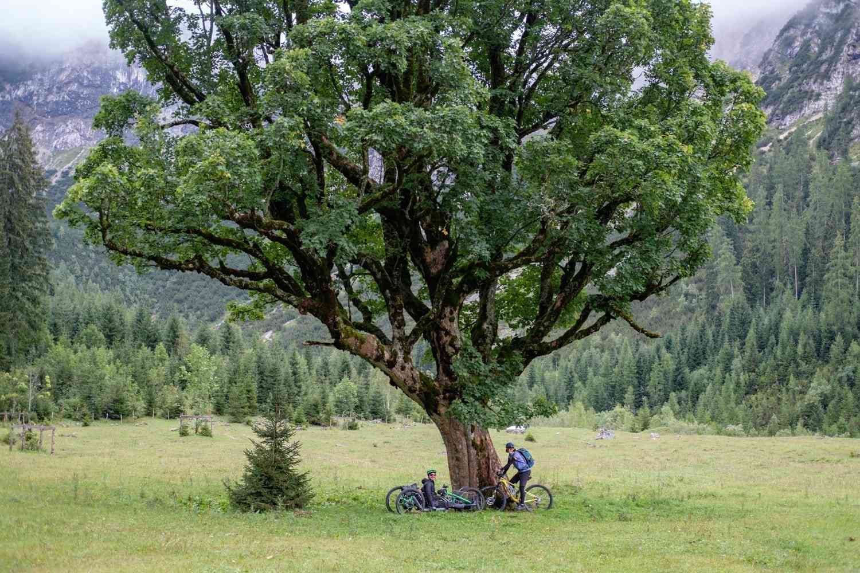 Am Weg zum Karwendelhaus