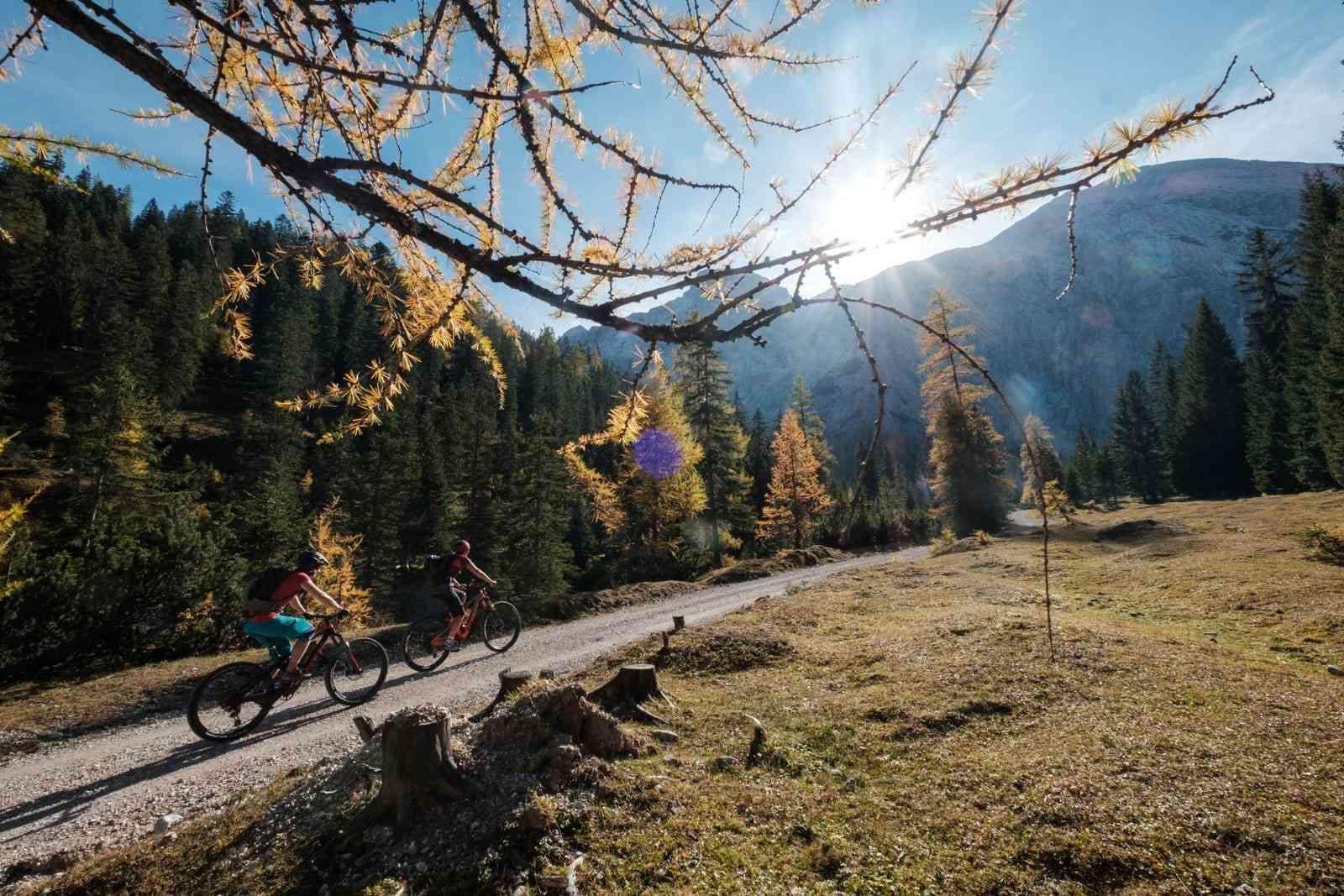 Karwendel mit Mountainbike