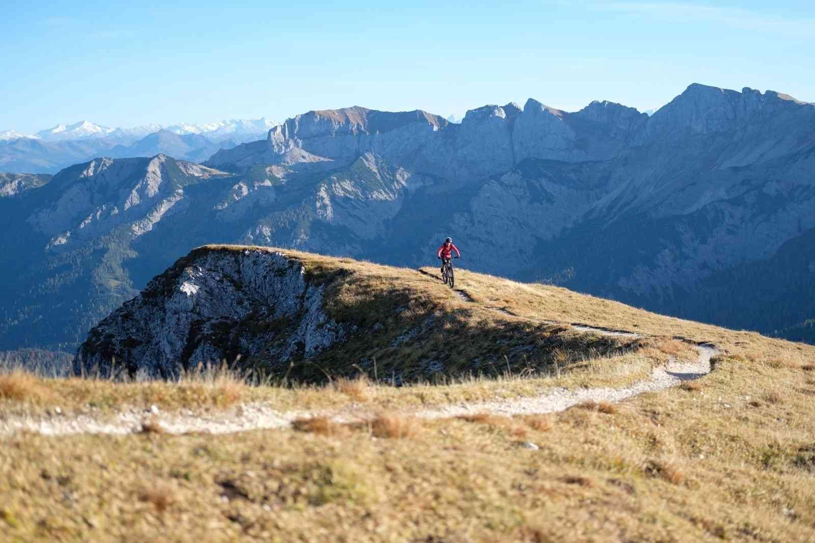 Mountainbike in Tirol