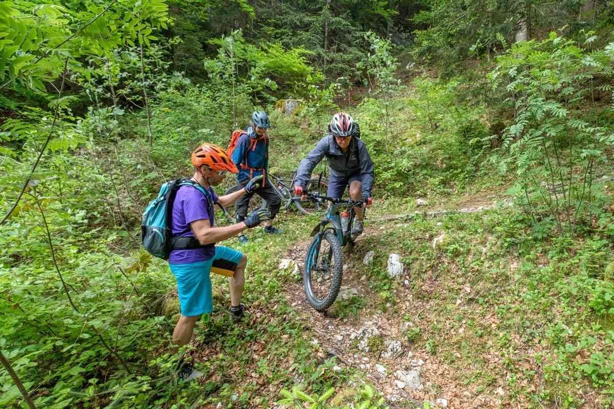 Mountainbike Fahrtechnik Leicht Fortgeschrittene