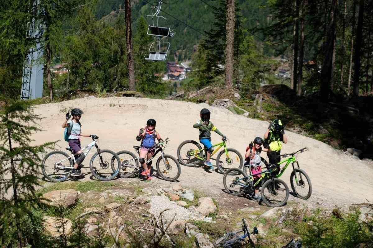 Mountainbike Camp für Kinder