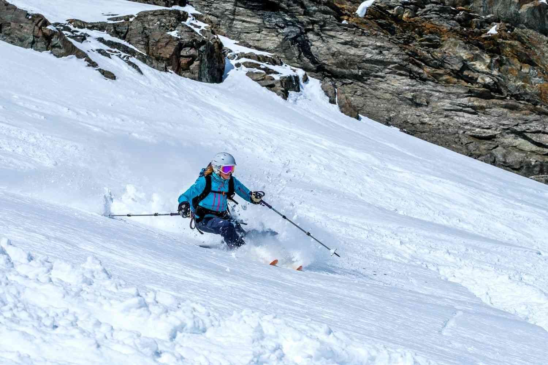 Pulver Skifahren