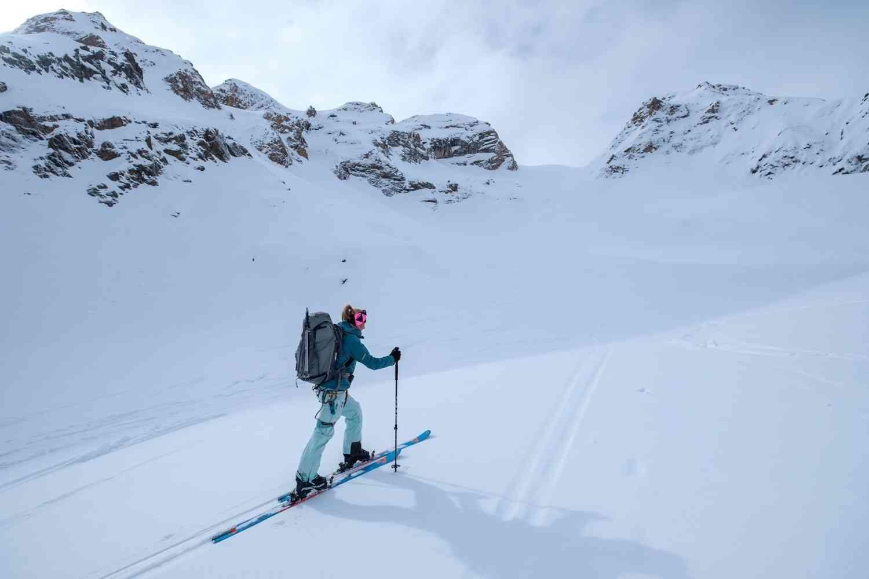 Alpines Skitourengehen