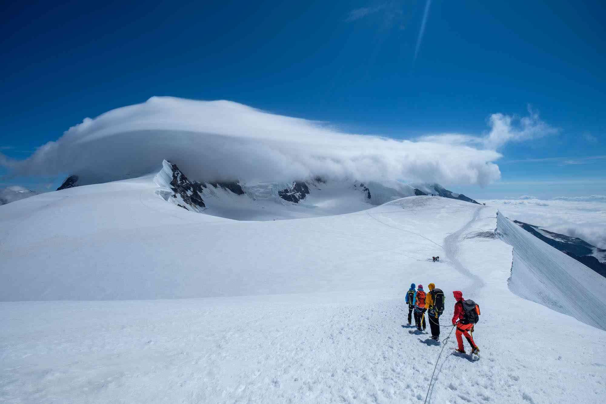 Hochtouren mit Bergführer