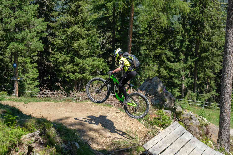 Mountainbike Training Kinder