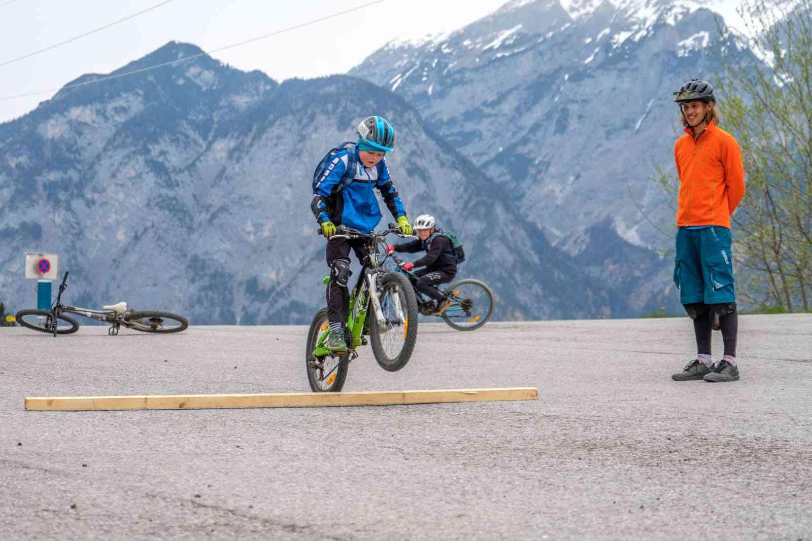 Mountainbike Kinder Kurse