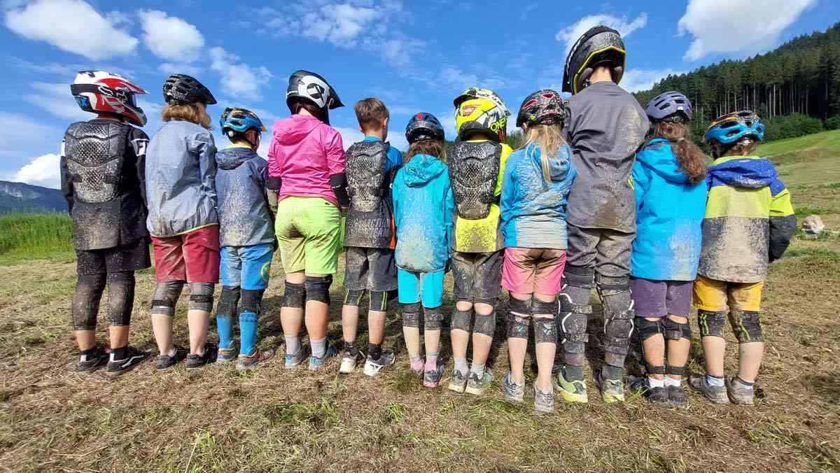 Kinder Mountain Bike Camp